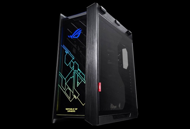 ASUS представила корпус Helios серии ROG Strix