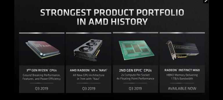 7 нанометровые CPU и GPU от AMD выйдут до конца лета (1)