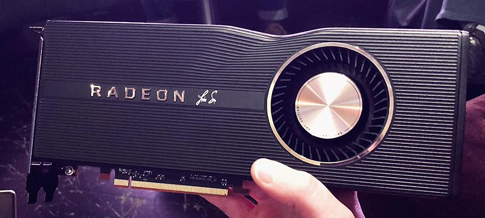 AMD выпустит юбилейную Radeon RX 5700 XT 50th Anniversary Edition