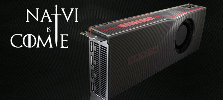 Navi пришли! AMD показала Radeon RX 5700 и Radeon RX 5700 XT (1)