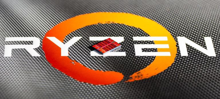 Кристалл AMD Ryzen 5 3600 крупным планом (1)