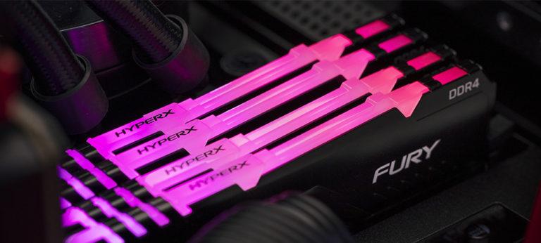 Оперативная память Kingston HyperX Fury обзавелась RGB-подсветкой (1)