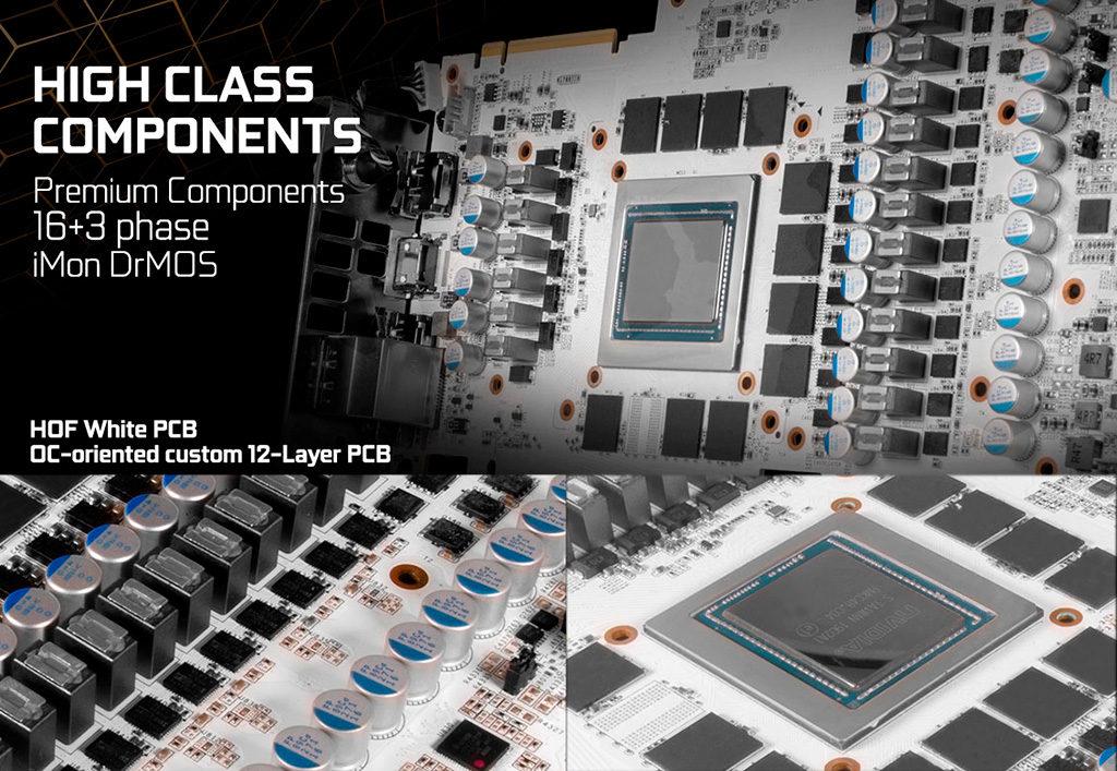 Подробности юбилейной видеокарты GALAX GeForce RTX 2080 Ti HOF 10th Anniversary Edition
